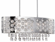 Kuzco 432106 Chrome Halogen Kitchen Island Lighting