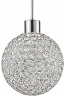 Kuzco 440101CH-LED Chrome LED Pendant Lighting