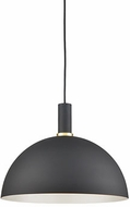 Kuzco 492316-BK-GD Archibald Modern Black / Gold 16  Drop Ceiling Lighting