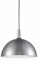 Kuzco 492316-BN-BK Archibald Contemporary Brushed Nickel / Black 16  Ceiling Light Pendant