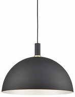 Kuzco 492324-BK-GD Archibald Contemporary Black / Gold 24  Drop Ceiling Light Fixture
