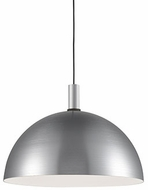 Kuzco 492324-BN-BK Archibald Modern Brushed Nickel / Black 24  Drop Lighting Fixture