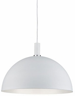 Kuzco 492324-WH-GD Archibald Contemporary White / Gold 24  Pendant Lighting