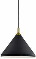 Kuzco 492814-BK-GD Dorothy Modern Black / Gold 14  Drop Ceiling Lighting