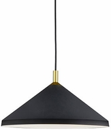 Kuzco 493118-BK-GD Dorothy Modern Black / Gold 18  Pendant Light