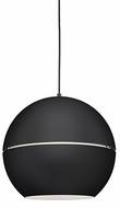 Kuzco 494016-BK Lucas Contemporary Black 16  Ceiling Light Pendant