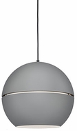 Kuzco 494016-GY Lucas Modern Gray 16  Ceiling Pendant Light
