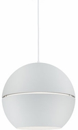 Kuzco 494016-WH Lucas Contemporary White 16  Drop Ceiling Light Fixture