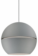 Kuzco 494024-GY Lucas Contemporary Gray 24  Pendant Lighting