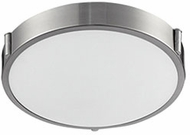 Kuzco 501102-LED Floyd Contemporary Brushed Nickel LED 11  Overhead Light Fixture