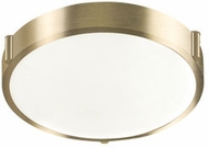 Kuzco 501102-VB Floyd Modern Vintage Brass LED 11  Overhead Lighting Fixture