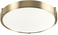 Kuzco 501112-VB Floyd Modern Vintage Brass LED 13  Overhead Lighting