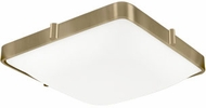 Kuzco 501113-VB Templeton Modern Vintage Brass LED 12  Flush Mount Lighting Fixture