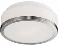 Kuzco 504103BN Contemporary Brushed Nickel 16  Ceiling Light Fixture