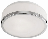 Kuzco 504103CH Modern Chrome 16  Ceiling Lighting Fixture