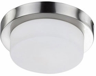 Kuzco 52011BN Contemporary Brushed Nickel 9  Ceiling Light