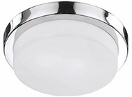 Kuzco 52011CH Contemporary Chrome 9  Ceiling Lighting Fixture