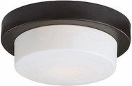 Kuzco 52012BZ Contemporary Bronze 13  Flush Lighting