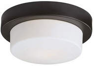 Kuzco 52012SBZ Modern Bronze 11  Flush Mount Light Fixture