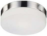 Kuzco 52022BN Contemporary Brushed Nickel 11  Overhead Light Fixture