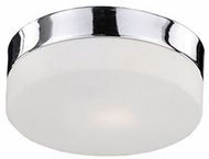 Kuzco 52022SCH Modern Chrome 9  Ceiling Lighting Fixture
