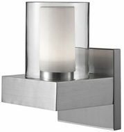 Kuzco 640001BN-LED Contemporary Brushed Nickel LED Wall Lighting Fixture