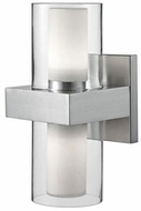 Kuzco 640002BN-LED Contemporary Brushed Nickel LED Wall Sconce Light