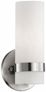 Kuzco 698011BN Contemporary Brushed Nickel Sconce Lighting