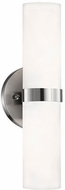 Kuzco 698012BN Contemporary Brushed Nickel Lighting Sconce