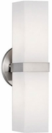 Kuzco 698112BN Contemporary Brushed Nickel Lighting Wall Sconce