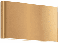 Kuzco AT6510-GD Slate Contemporary Gold Outdoor Light Sconce