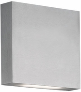 Kuzco AT6606-BN Mica Modern Brushed Nickel LED Outdoor Wall Light Sconce