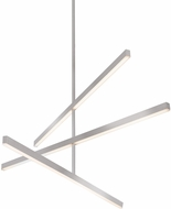Kuzco CH10345-BN Vega Modern Brushed Nickel LED 45  Chandelier Lighting