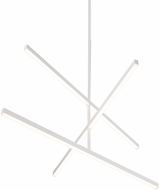 Kuzco CH10345-WH Vega Modern White LED 45  Chandelier Lamp