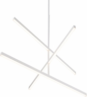 Kuzco CH10356-WH Vega Modern White LED 56  Chandelier Light