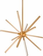 Kuzco CH14220-GD Sirius Minor Modern Gold LED Mini Lighting Chandelier