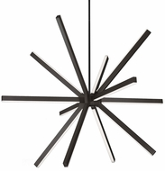 Kuzco CH14348-BK Sirius Contemporary Black LED 48  Chandelier Lighting
