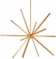 Kuzco CH14356-GD Sirius Contemporary Gold LED 54  Chandelier Light