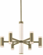 Kuzco CH16724-BB Brazen Contemporary Brushed Brass LED Mini Chandelier Light