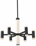 Kuzco CH16724-BK Brazen Modern Black LED Mini Chandelier Lighting