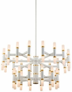 Kuzco CH19833-WH Draven Contemporary White LED Chandelier Light