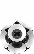 Kuzco CH51232-BKWH Magellan Contemporary Black / White LED Chandelier Light