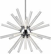 Kuzco CH71832-CH Astro Contemporary Chrome LED 32  Chandelier Light