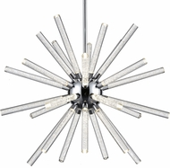 Kuzco CH71840-CH Astro Contemporary Chrome LED 40.5  Lighting Chandelier
