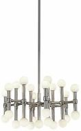 Kuzco CH96121-PN Rivoli Contemporary Polished Nickel LED Mini Ceiling Chandelier