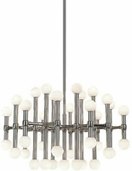 Kuzco CH96128-PN Rivoli Modern Polished Nickel LED Chandelier Lighting
