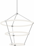 Kuzco CH99326-CH Santino Contemporary Chrome LED Hanging Chandelier