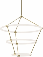 Kuzco CH99326-NB Santino Modern Natural Brass LED Chandelier Light