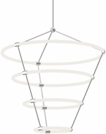 Kuzco CH99433-CH Santino Modern Chrome LED Ceiling Chandelier