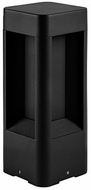 Kuzco EB0112-BK Contemporary Black LED Outdoor 12  Post Lighting